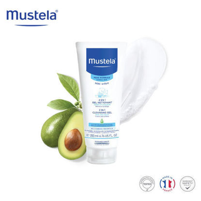 Picture of Mustela 2 in 1 Cleansing Gel 200ml