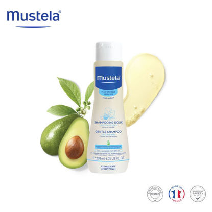 Picture of Mustela Gentle Shampoo 200ml