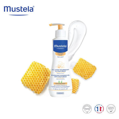Picture of Mustela Nourishing Cleansing Gel with Cold Cream 300ml