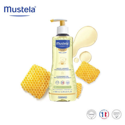 Picture of Mustela Cleansing Oil 500ml