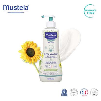 Picture of Mustela Stelatopia Cleansing Gel 500ml
