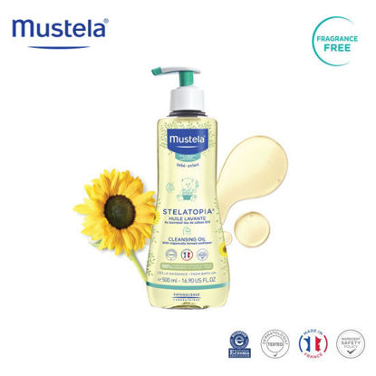 Picture of Mustela Stelatopia Cleansing Oil 500ml