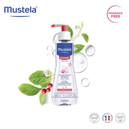 Picture of Mustela No Rinse Soothing Cleansing Water 300ml