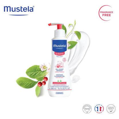Picture of Mustela Soothing Cleansing Gel 300ml