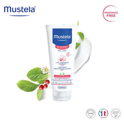 Picture of Mustela Soothing Moisturizing Body Lotion 200ml
