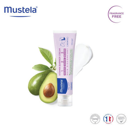 Picture of Mustela Vitamin Barrier Cream 123 50ml