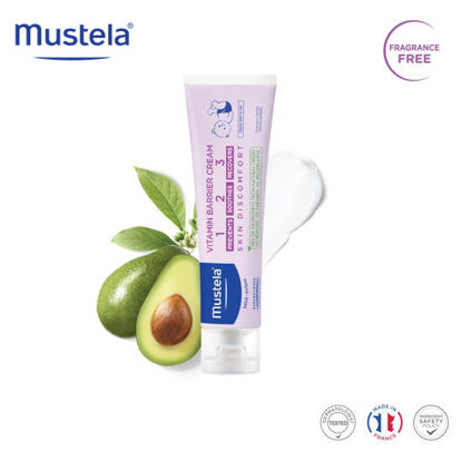 Picture of Mustela Vitamin Barrier Cream 123 100ml