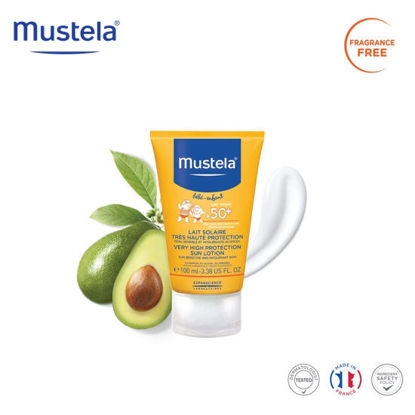 Picture of Mustela Very High Protection Sun Lotion 100ml