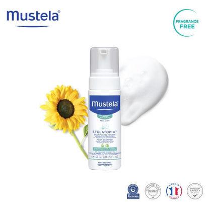 Picture of Mustela Stelatopia Foam Shampoo 150ml