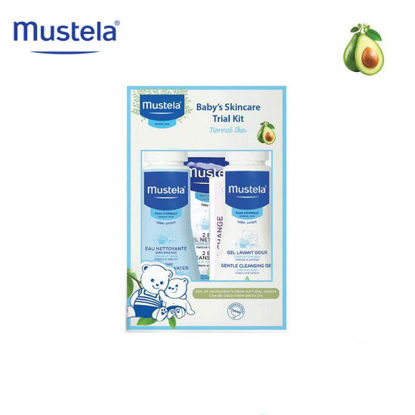 Picture of Mustela Baby's Skincare Trial Kit for Normal Skin