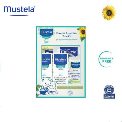 Picture of Mustela Eczema Essentials Trial Kit