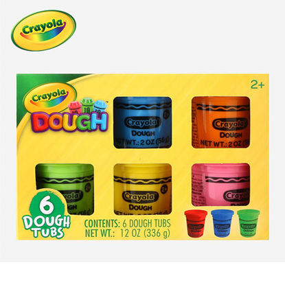 Picture of Crayola 6-Pack Dough Color Box 2oz.