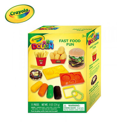 Picture of Crayola Modeling Clay Dough - Fast Food Fun Small Playset