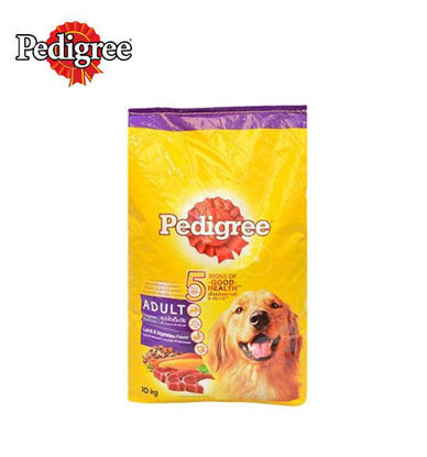 Picture of Pedigree adult lamb and vegetables 10kg