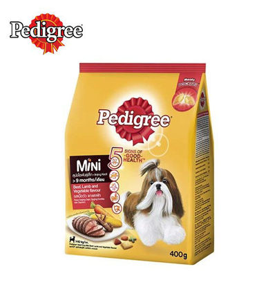 Picture of Pedigree dry mini beef lamb and vegetables 400g