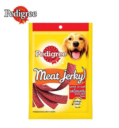 Picture of Pedigree meat jerky smoky beef 80g