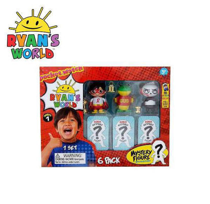 Picture of Ryan's World Mystery Figure 6-pack