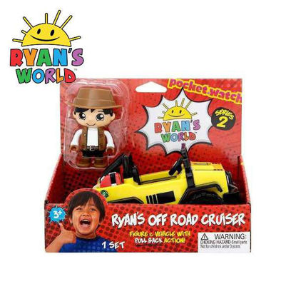 Picture of Ryan's World Off Road Cruiser 3-inch Figure & Vehicle with Pull Back Action Series 2