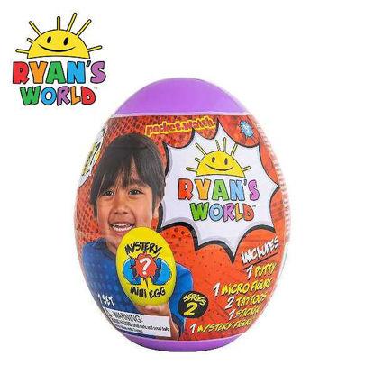 Picture of Ryan's World Mini Mystery Egg Surp Series 2-Purple