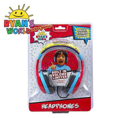 Picture of Ryan's World Youth Headphones with Built In Volume Limiter