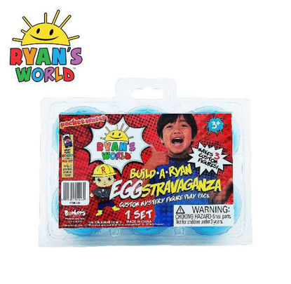 Picture of Ryan's World Build-a-Ryan: EGGstravaganza 6-Pack