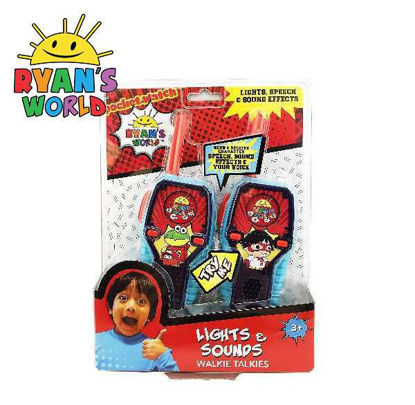Picture of Ryan's World Deluxe Walkie Talkies with Lights and Sounds