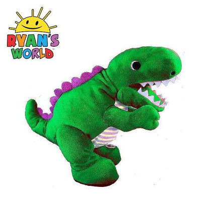 Picture of Ryan's World Electronice Roaring Green Dinosaur