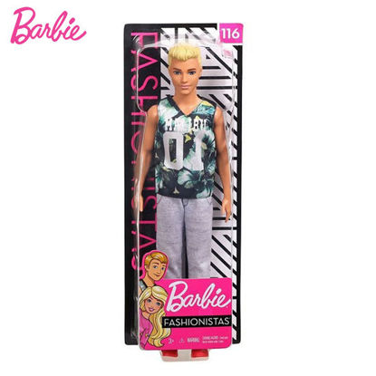 Picture of Barbie Ken Doll Fashionista Doll 118 - Original with Blonde Hair