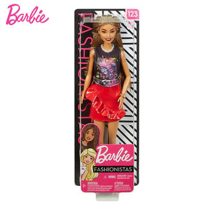 Picture of Barbie Fashionistas Doll Tall #123 - Brunette Hair