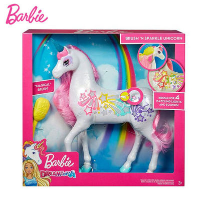 Picture of Barbie Dreamtopia Brush N' Sparkle Unicorn
