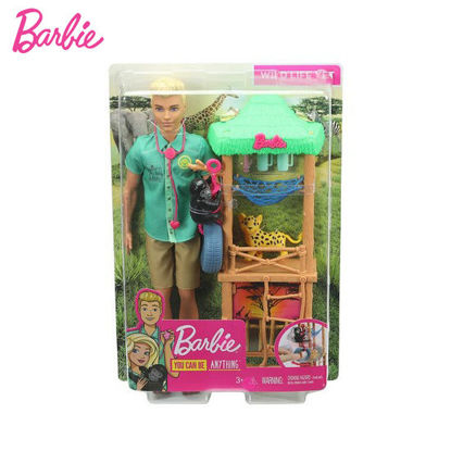 Picture of Barbie Ken Wildlife Vet Playset with Doll and Accessories