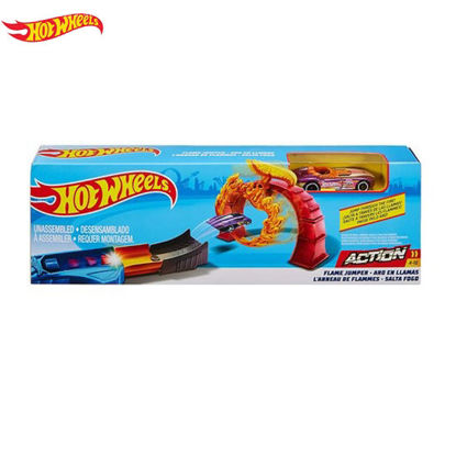 Picture of Hot Wheels Classic Stunt Set - Flame Jumper