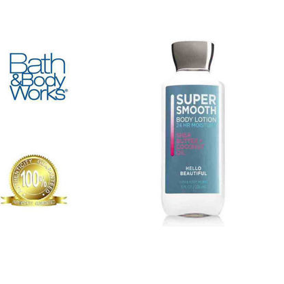 Picture of Bath and Body Works Hello Beautiful Super Smooth Body Lotion 236ml