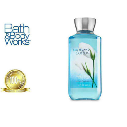 Picture of Bath and Body Works Sea Island Cotton Shower Gel 295ml