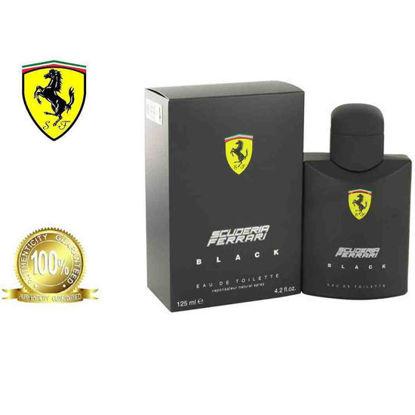 Picture of Ferrari Scuderia Black Eau De Toilette for Men 125ml