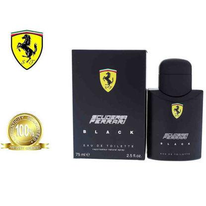 Picture of Ferrari Scuderia Black Eau De Toilette for Men 75ml