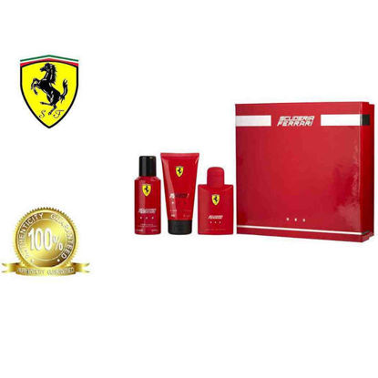 Picture of Ferrari Scuderia Red 42169 Edt 125Ml+150Deosp+150Hbw Set Ph