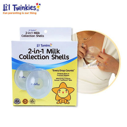 Picture of Li'l Twinkies 2-in-1 Milk Collection Shells, 1 Pair