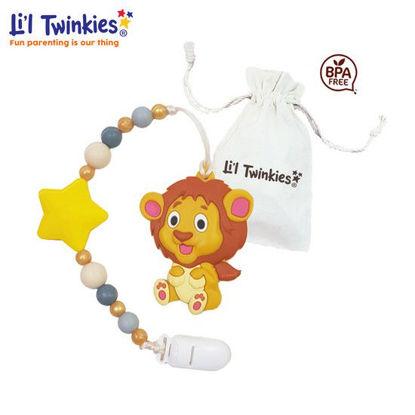 Picture of Li'l Twinkies Teether w/ Clip-on, Lion
