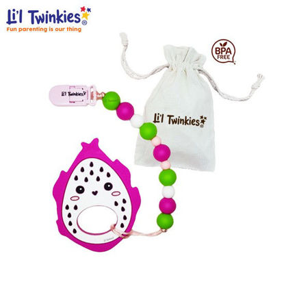 Picture of Li'l Twinkies Teether w/ Clip-on, Dragonfruit