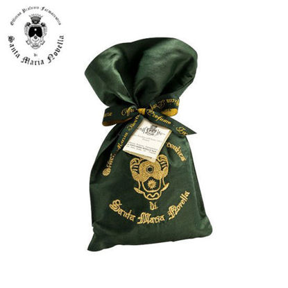 Picture of Santa Maria Novella Pot Pourri in Green Silk Sachet