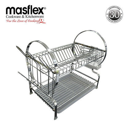 "Picture of Masflex 2 Layer 16"" Dish Drainer"