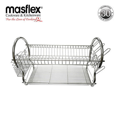 "Picture of Masflex 2 Layer 22"" Dish Drainer"