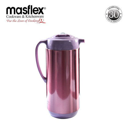 Picture of Masflex 1.0L Vacuum Flask Satin Finish (Purple)