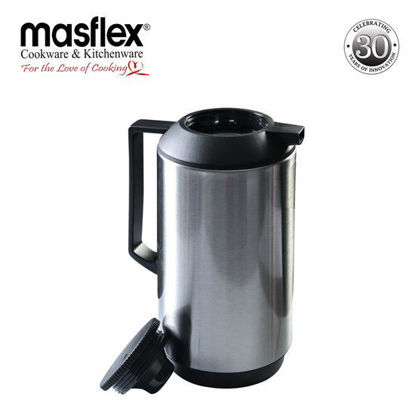 Picture of Masflex 1.0L Vacuum Flask Satin Finish Ss