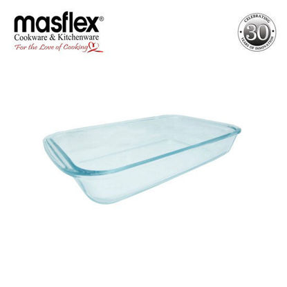 Picture of Masflex 1.6L Rect Glass Bakeware W/ Box