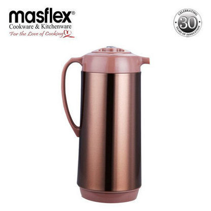 Picture of Masflex 1.9L Vacuum Flask Satin Finish (Mocha)