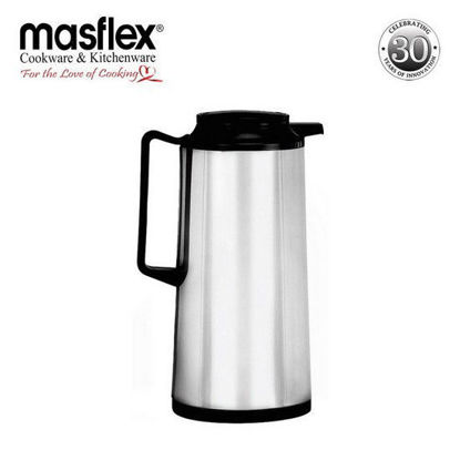 Picture of Masflex 1.6L Vacuum Flask Satin Finish Ss