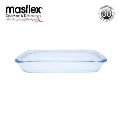 Picture of Masflex 2.2L Rect Glass Bakeware W/ Box