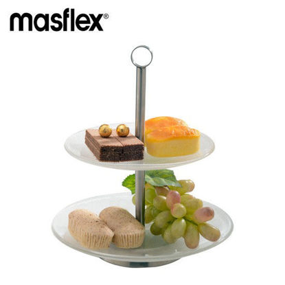 Picture of Masflex 2 Tier Glass Plate Server